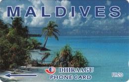 *IS. MALDIVE - 109MLDB* - Scheda Usata - Maldiven