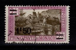 Monaco - YV 110 Oblitere Cote 6,40 Euros - Monaco