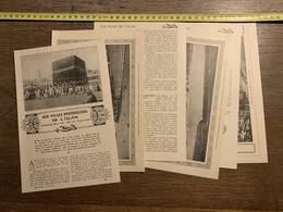 1918 LPT AUX VILLES MYSTERIEUSES DE L ISLAM DE BEN CHERIF CAID LA MECQUE TUNNEL DE TAVANNES - Collections
