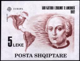 Albanie BF - Europa CEPT 1992 - Yvert Nr. BF 73 - Michel Nr. Block 97  ** - 1992