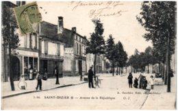 52 SAINT-DIZIER - Avnue De La République - Saint Dizier