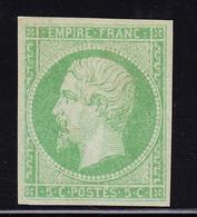 (*) EMISSIONS GENERALES - (*) - N°8 - 5c Vert Jaune - TB - Napoléon III