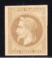 * EMISSIONS GENERALES - * - N°9 - 30c Brun Clair - TB - Napoléon III
