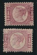* GRANDE BRETAGNE - * - N°49x2 (pl. 4 Et 10) - B/TB - 1840-1901 (Viktoria)