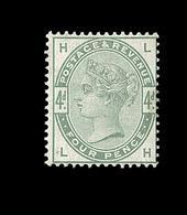 * GRANDE BRETAGNE - * - N°81 - 4d Vert - Comme** - TB - 1840-1901 (Viktoria)