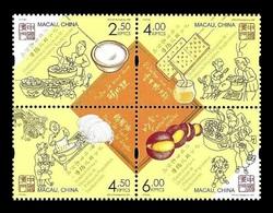 Macao 2020 Mih. 2312/15 Gastronomy. Traditional Popular Snacks MNH ** - 1999-... Región Administrativa Especial De China