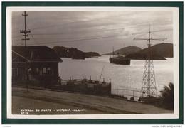 VICTORIA VITORIA - ENTRADA DO PORTO Harbour ESPIRITO SANTO - Cruise Ship - BRASIL BRAZIL - Vitória
