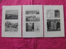 Madagascar: Trois Documents Des Années 1900 Sur Majunga - Documents Historiques