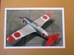 CAGI3 Format Carte Postale Env 15x10cm : SUPERBE (TIRAGE UNIQUE) PHOTO MAQUETTE PLASTIQUE 1/48e KI-61 HIEN Très Coloré - Avions