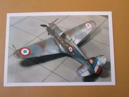 CAGI3 Format Carte Postale Env 15x10cm : SUPERBE (TIRAGE UNIQUE) PHOTO MAQUETTE PLASTIQUE 1/48e CURTISS H-75A FRANCE 40 - Avions