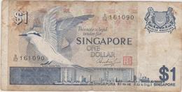 Singapour - Billet De 1 Dollar - Non Daté (1976) - P9 - Singapore