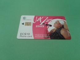 St Lucia - Nice Phonecard - Santa Lucia