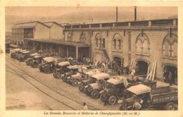 CHAMPIGNEULLES LES GRANDES BRASSERIES ET MALTERIES CAMIONS DE LIVRAISONS - Andere Gemeenten