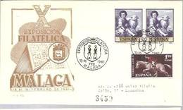 MATASELLOS  1961 MALAGA CERTIFICADA - 1961-70 Brieven