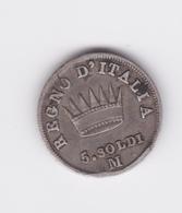 5 Soldi 1810 M (grand 0) TTB - Napoleonic