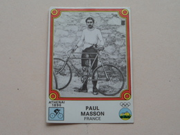 PAUL MASSON France ( MONTREAL 76 ) > ( Nr. 15 ) - Figurine PANINI ! - Radsport
