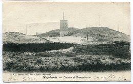 CPA - Carte Postale - France - Zuydcoote - Dunes Et Semaphore - 1904 (SVM12237) - Otros Municipios