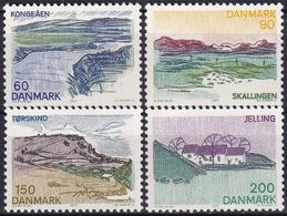 DÄNEMARK 1977 Mi-Nr. 641/44 ** MNH - Nuovi