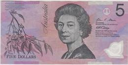 Australie - Billet De 5 Dollars - Elizabeth II - Non Daté (2008) - Polymère - P57f - Dezimale Regierungsausgaben 1966-...