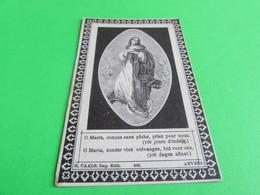 DOODSPRENTJE   JAN-BAPTIST-ANTOON-GUSTAAF  STEYAERT - Images Religieuses