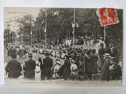 Senones. RARE. Spectateurs De La Fête Du 1er Bataillon De Chasseurs à Pied. 1914 - Senones