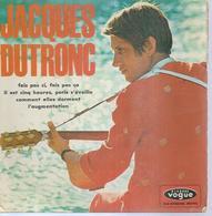 """45 Tours EP - JACQUES DUTRONC  - VOGUE 8611 - """" IL EST CINQ HEURES, PARIS S'EVEILLE """" + 3 - Discos De Vinilo"""