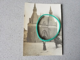 Malines  Photo Originale Porte De Bruxelles - Malines