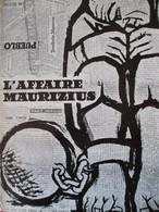 """CINEMA -  Dossier De Presse Du Film """" L' AFFAIRE MAURIZIUS """" De Julien Duvivier  - TBE - Pubblicitari"""