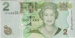Iles Fidji - Billet De 2 Dollars - Elizabeth II - Non Daté (2007) - P109a - Fidschi