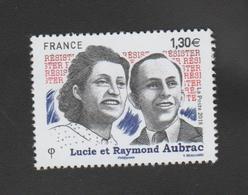 FRANCE / 2018 / Y&T N° 5219 ** : Lucie & Raymond Aubrac X 1 - Nuevos