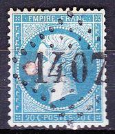 France-Yv 22, GC 1407 Ernee, Pd - 1849-1876: Période Classique