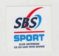 Sticker Radio/TV: Sbs6 (NL) - Aufkleber