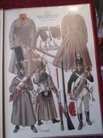 Planche Uniformologique CEUX QUI BRAVAIENT L'AIGLE Par P COURCELLES : INFANTERIE LOURDE LIGNE RUSSE Excellent état ! - Uniforms