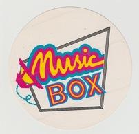 Sticker Radio/TV: Music Box (NL) - Pegatinas