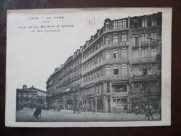 Carte Vue De La Maison GRAS 36, Rue Faidherbe  - LILLE - Lille