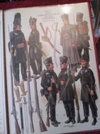Planche Uniformologique CEUX QUI BRAVAIENT L'AIGLE Par P COURCELLES : PRUSSE INFANTERIE DE LUTZOW Excellent état ! - Uniforms