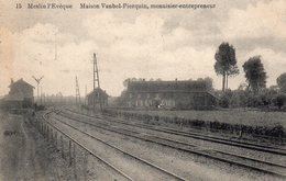 Meslin L'Evêque.  Maison Vanbel-Pierquin, Menuisier-entrepreneur (chemin De Fer) - Ath