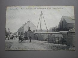 BERCHEM - ATELIERS DE CONSTRUCTION ET FONDERIE DE FER VAN COPPENOLLE 1908 - Antwerpen