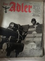"Revue "" ADLER ""  Berlin Le 9 Mars 1943 N°5 - 5. World Wars"