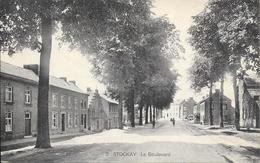 Stockay - N°2 - Le Boulevard - Ed: Eug. Lemye-Havelange - Circulé - 2 Scans - Saint-Georges-sur-Meuse