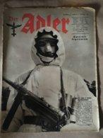 """Revue """" ADLER """" Berlin Le 9 Fevrier 1943 N° 3 - 5. World Wars"""
