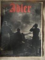 """Revue """" ADLER """" Berlin Le 22 Fevrier 1944 N° 4 - 5. World Wars"""