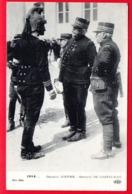 1914... Général JOFFRE - Général DE CASTELNAU - Oorlog 1914-18