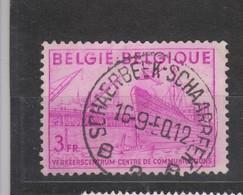 COB 770 Oblitération Centrale SCHAERBEEK - 1948 Export