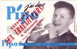 BUVARD  - Vetement PIPO - SCHIFFMANN - BELFORT - Buvards, Protège-cahiers Illustrés