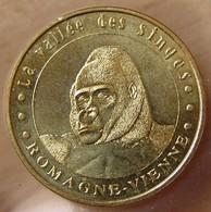 Jeton Touristique (86 VIENNE ) Romagne - La Vallée Des Singes 2005 Gorille N°2 - Monnaie De Paris