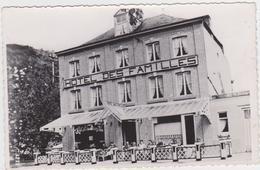 Hastière - Hotel Des Familles (gelopen Kaart Met Zegel En Afstempeling 1947) - Hastière