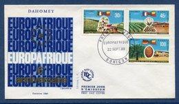Dahomey - FDC - Premier Jour - Europafrique - Bohicon - 1969 - Benin - Dahomey (1960-...)