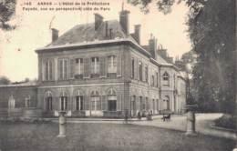 62 ARRAS L'HOTEL DE LA PREFECTURE FACADE VUE EN PERSPECTIVE COTE DU PARC - Arras