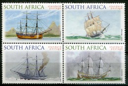 South Africa Mi# 1189-92 Postfrisch/MNH - Ships - Zonder Classificatie